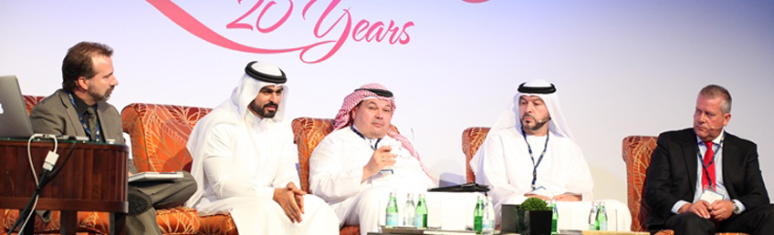 Abdulla Al Gurg panellist at shopping centers