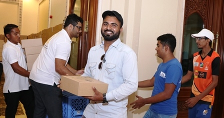 Charity Foundation distributes 4000 meals across mosques during Ramadan