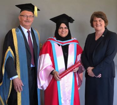 Dr Raja Al Gurg awarded doctorate from Queen's varsity