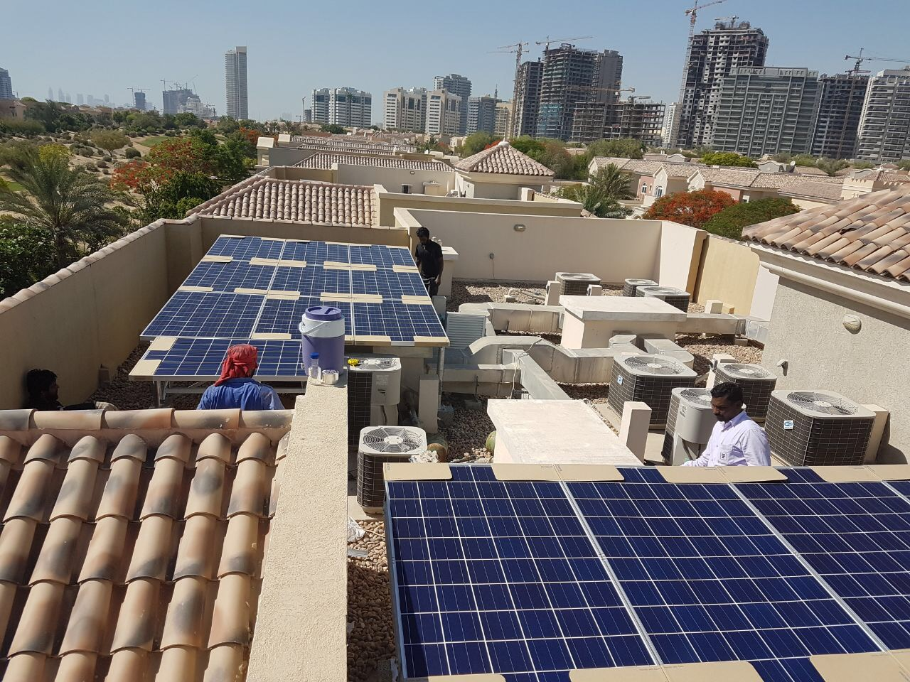 TTE commissions first Solar PV system